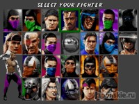 Играть в игру Ultimate Mortal Kombat 3 онлайн