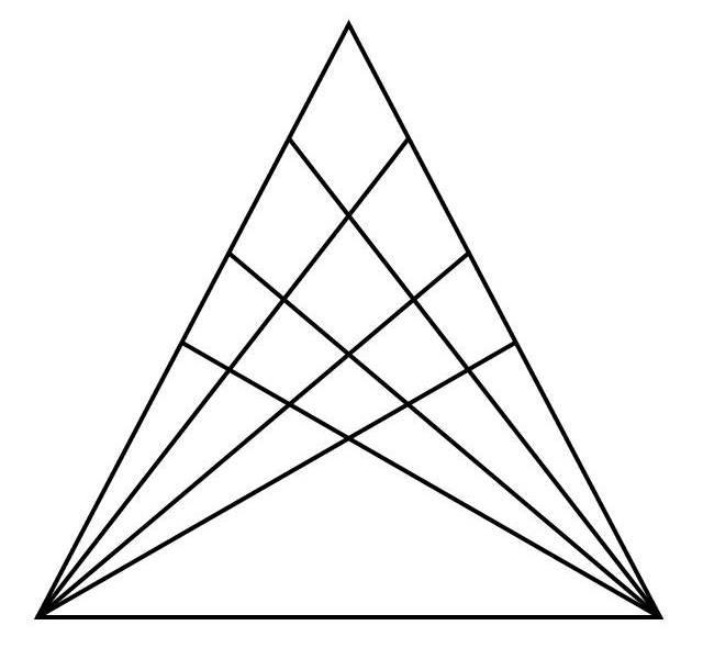 найди треугольники на картинке ситуация более сложная