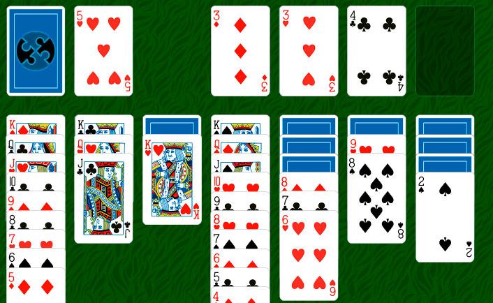 пасьянс солитер по три карты играть онлайн бесплатно без регистрации сохранять счет