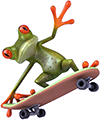 craft/frog_skateboarder
