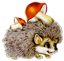 craft/hedgehog_with_mushrooms