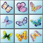 Mahjong butterfly