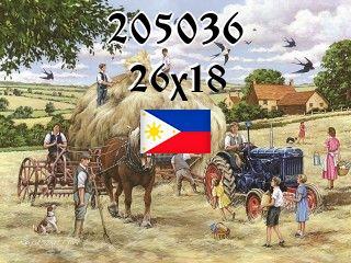 Филиппинский пазл №205036