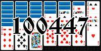 Пасьянс №100447