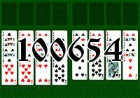Пасьянс №100654