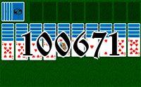 Пасьянс №100671