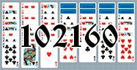 Пасьянс №102160
