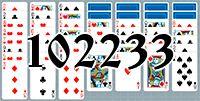Пасьянс №102233