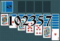 Пасьянс №102357