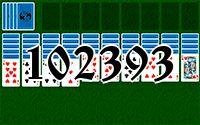 Пасьянс №102393