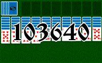 Пасьянс №103640