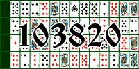 Пасьянс №103820