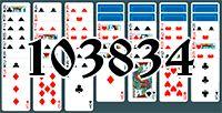 Пасьянс №103834