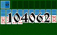 Пасьянс №104062