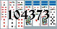 Пасьянс №104373