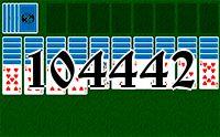 Пасьянс №104442