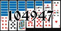 Пасьянс №104947