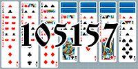Пасьянс №105157