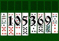 Пасьянс №105369