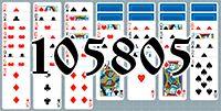 Пасьянс №105805