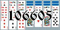 Пасьянс №106605