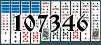 Пасьянс №107346