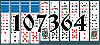 Пасьянс №107364