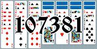 Пасьянс №107381