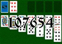 Пасьянс №107654