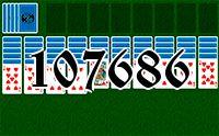 Пасьянс №107686