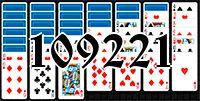 Пасьянс №109221