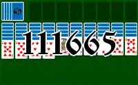 Пасьянс №111665