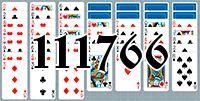 Пасьянс №111766