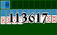 Пасьянс №113617