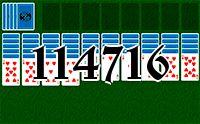 Пасьянс №114716