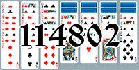 Пасьянс №114802