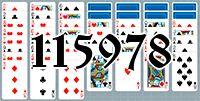 Пасьянс №115978