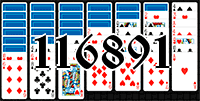 Пасьянс №116891