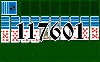 Пасьянс №117601