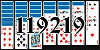 Пасьянс №119219
