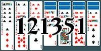 Пасьянс №121351