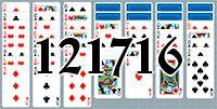 Пасьянс №121716