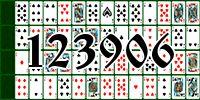 Пасьянс №123906