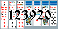 Пасьянс №123920