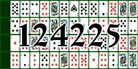 Пасьянс №124225