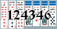 Пасьянс №124346