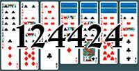 Пасьянс №124424