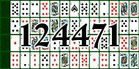 Пасьянс №124471