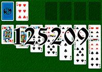 Пасьянс №125209