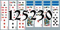 Пасьянс №125230